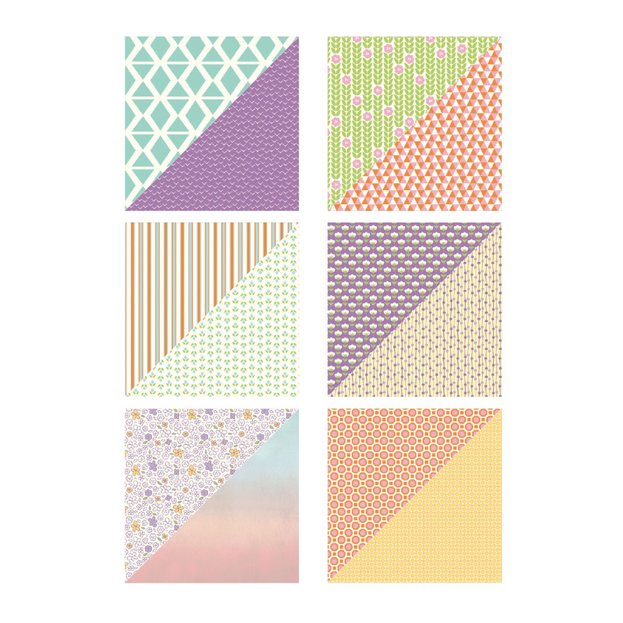 Confectionary Days  12x12 Printed Paper