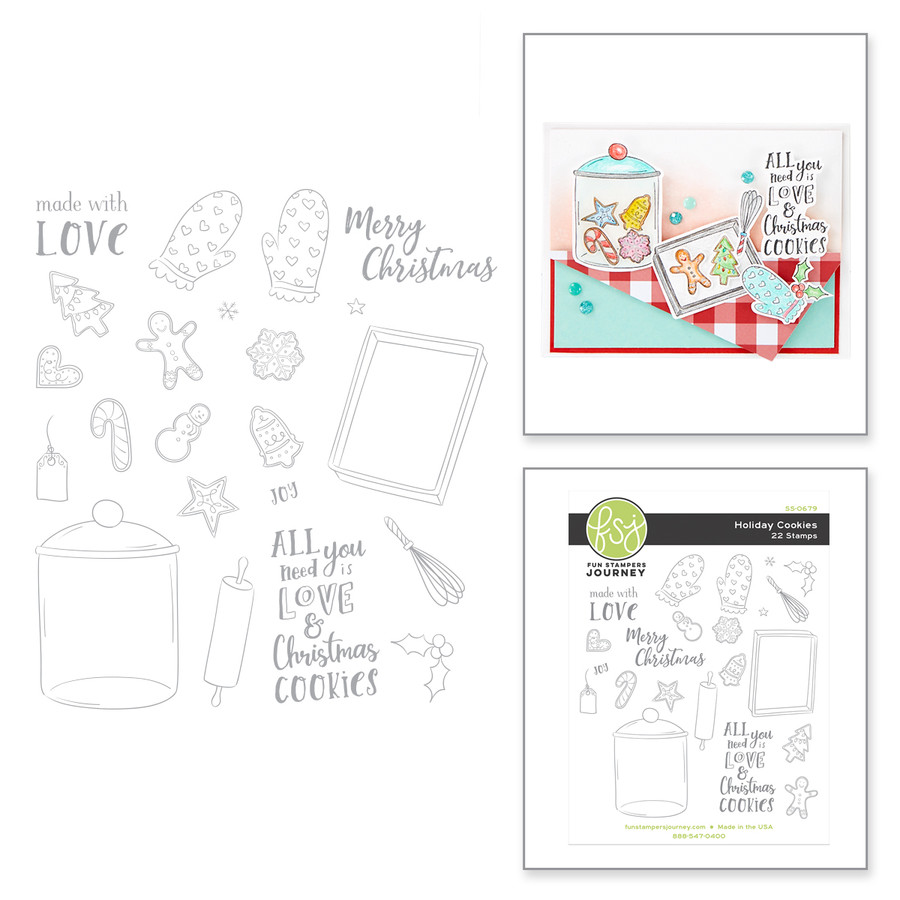 Holiday Cookies Stamp Set