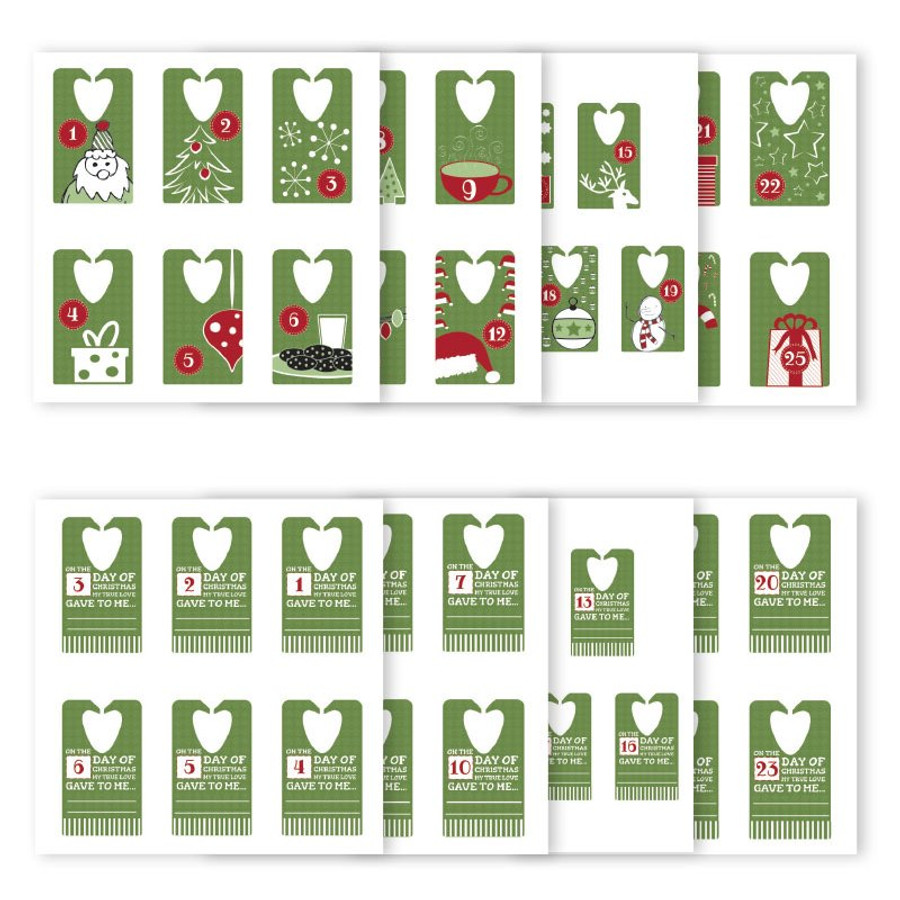 25-Day Tags Advent Countdown