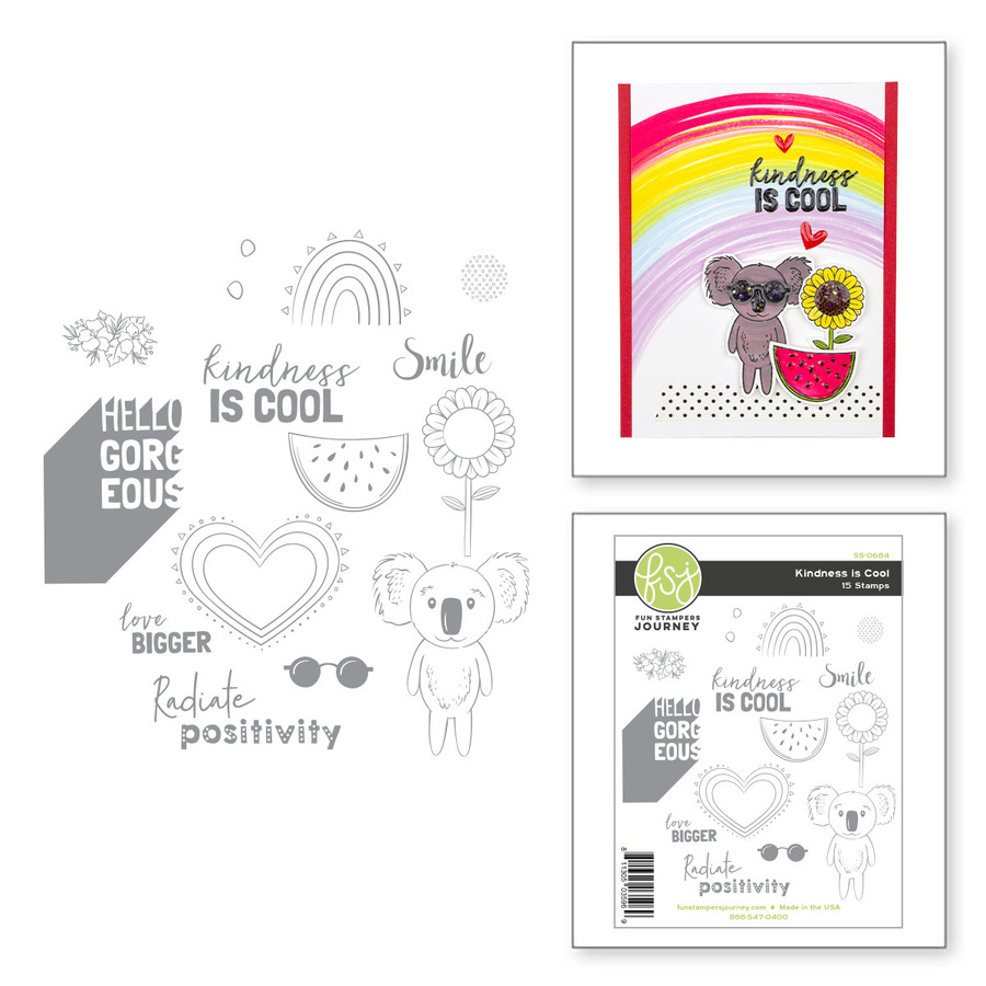 Kindness is Cool Stamp Set