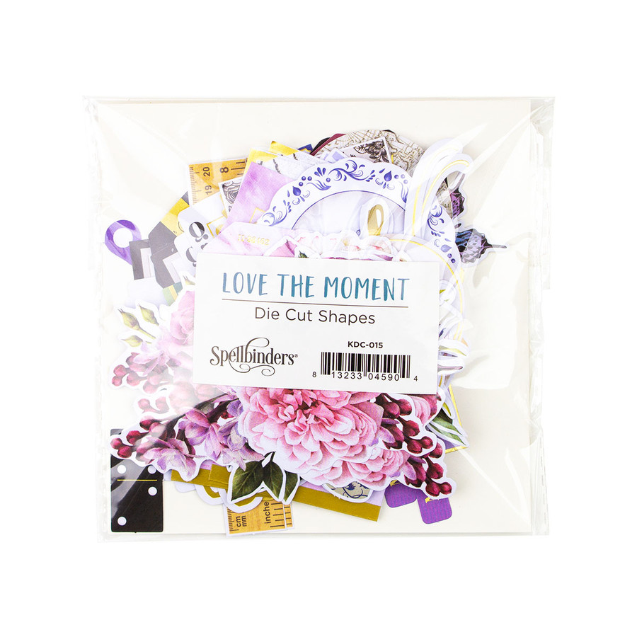Love the Moment Die Cut Shapes Set - Card Kit of the Month Extras