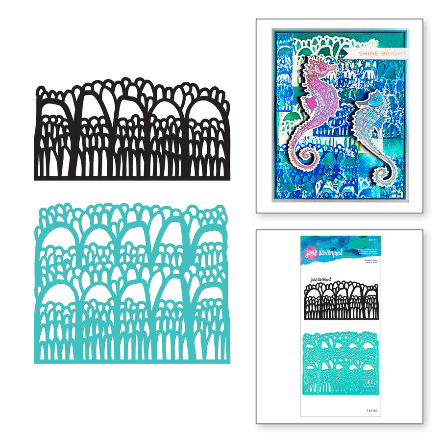 Bubble Palace Stamp and Die Set Marvelous Mermaids by Jane Davenport