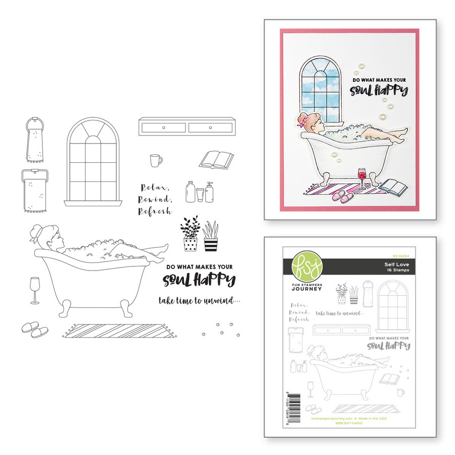 Self Love Stamp Set from Take Time for You by FSJ