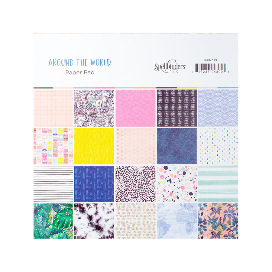 Around the World Paper Pad - Card Kit of the Month Extras