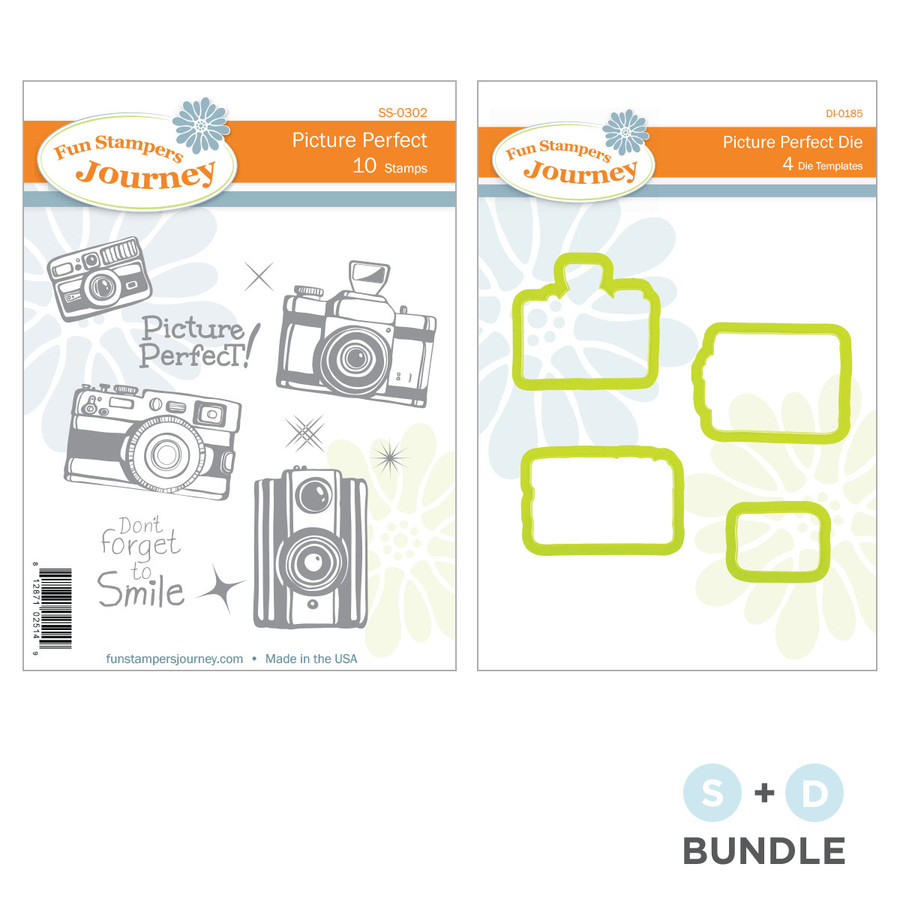 Picture Perfect Stamp and Die Bundle
