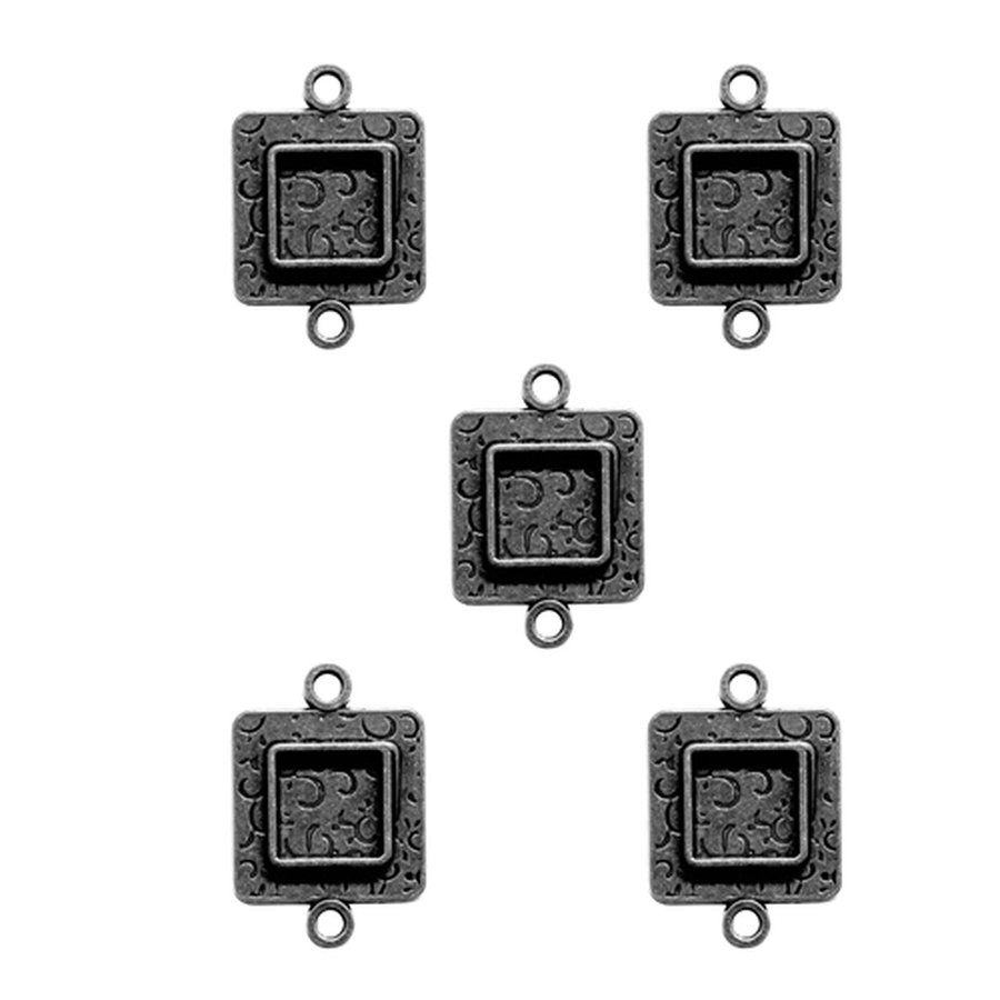 Media Mixage Squares Two - 5PK - Silver