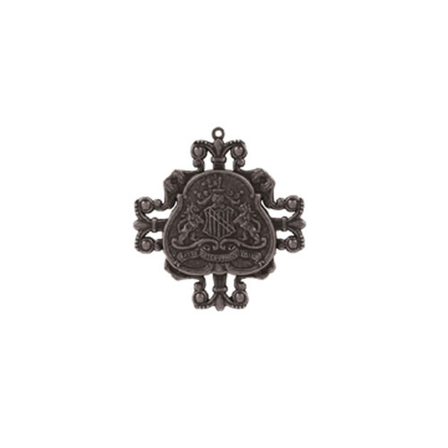 A Gilded Life Family Crest - Silver Pendant