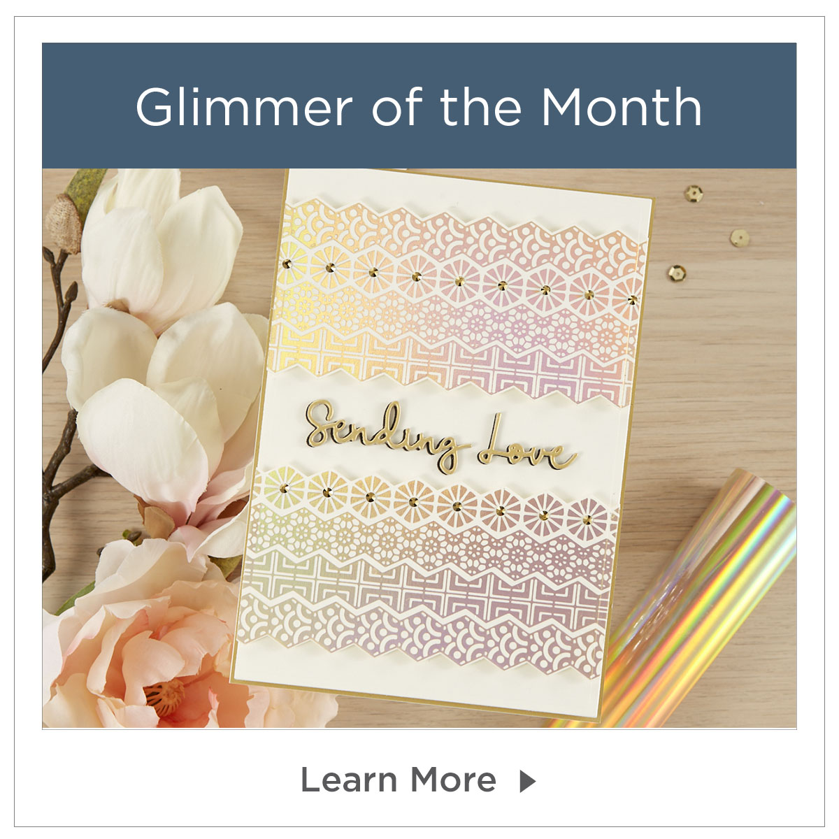 Glimmer Hot Foil Kit of the month