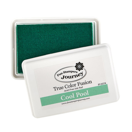 Cool Pool True Color Fusion Ink Pad