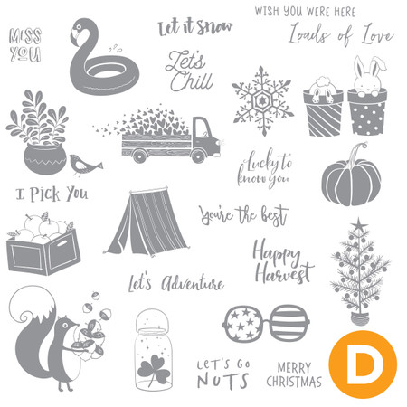 All Year Long Stamp Set