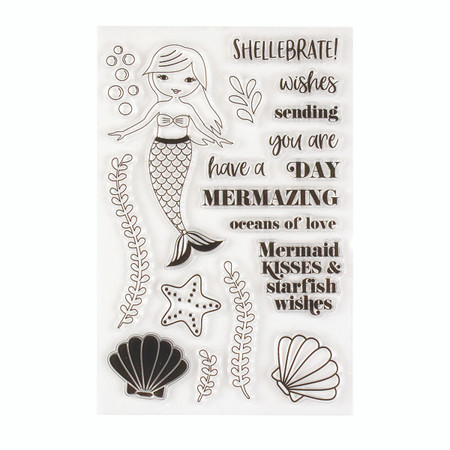 Shellebrate Clear Stamp Set - Card Kit of the Month Extras