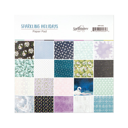 Sparkling Holidays Paper Pad - Card Kit of the Month Extras