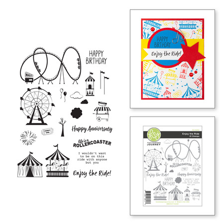 Enjoy the Ride Stamp Set