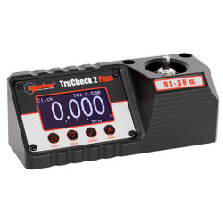 "1/4"" Hex Dr 14.4-424 In Oz / .1 - 3 Nm Norbar TruCheck 2 Plus Digital Torque Tester - 43515"