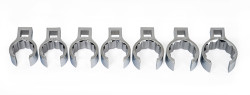 "1 1/8 - 1 1/2"" Williams 1/2"" Dr Crowfoot Wrench Set 12 Pt 7 Pcs - WSSCF-7"