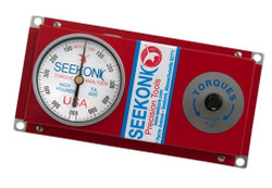 "Seekonk 3/8"" Dr 0-600 Inch Pound Torque Tester With Memory Needle - TA-600"
