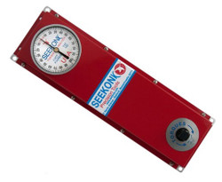 "Seekonk 1/2"" Dr 0-100 Foot Pound Torque Tester With Memory Needle - TAF-100"