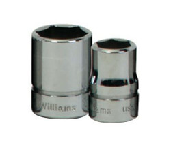 "1"" Williams 3/8"" Drive Shallow Socket - 6 Pt B-632"