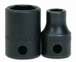 "8MM Williams 3/8"" Dr Shallow Impact Socket 6 Pt - 2M-608"