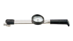 Tohnichi 20 - 200 Nm Interchangeable Head Dial Torque Wrench - CDB200NX19D-S