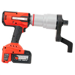 "1"" Dr 440 - 2950 Ft Lbs Norbar Auto 2-Speed EvoTorque Cordless Torque Multiplier & Batteries - 180661"