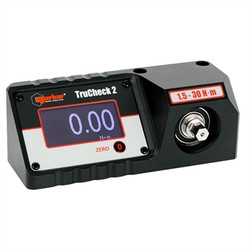 """1/4"""" Hex Dr 13-265 In Lbs / 1.5-30 Nm Norbar TruCheck Basic Digital Torque Tester"""