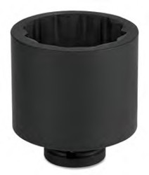 """3/4""""MM Williams 1"""" Dr Shallow Impact Socket SAE 12 Pt - JHW7-1224"""
