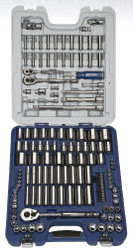 """138 Piece Williams 1/4"""", 3/8"""", 1/2"""" Dr Socket and Drive Tool Set - JHW50612B"""