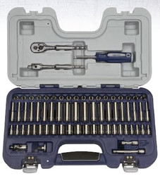 """67 Piece Williams 1/4"""" Dr Socket and Drive Tool Set - JHW50602B"""