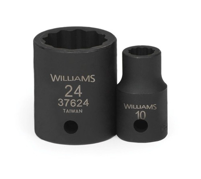 1//2 Drive Williams 32621 21mm Shallow 12 Point Socket