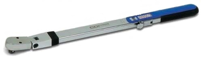 CDI 3/8'' Dr 20-100 Ft Lbs Split Beam Torque Wrench WSC-100CA