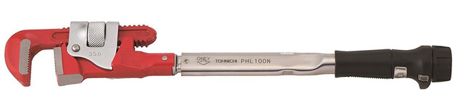 15-75 Ft Lbs Tohnichi Pipe Head Adjustable Torque Wrench - 900PHL3-A
