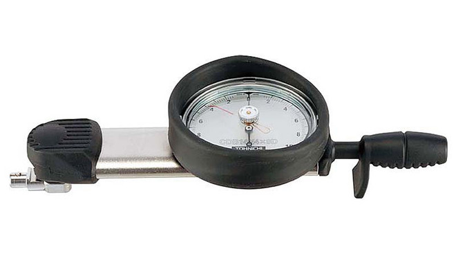 Tohnichi 6 - 60 In Lbs Interchangeable Head Dial Torque Wrench - 70CDB4-A-S
