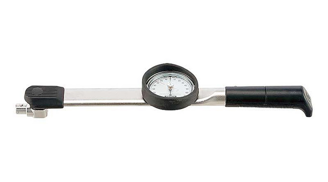 Tohnichi 20 - 220 Ft Lbs Interchangeable Head Dial Torque Wrench - 3000CDB-A-S