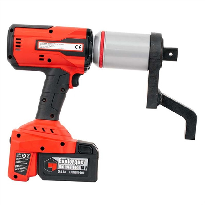 "1"" Dr 150 - 1000 Ft Lbs Norbar Auto 2-Speed EvoTorque Cordless Torque Multiplier & Batteries - 180469"