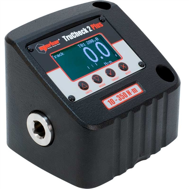 "1/2"" Dr 7.3 - 258.3 Ft Lbs / 10 - 350 Nm Norbar TruCheck 2 Plus Digital Torque Tester - 43525"