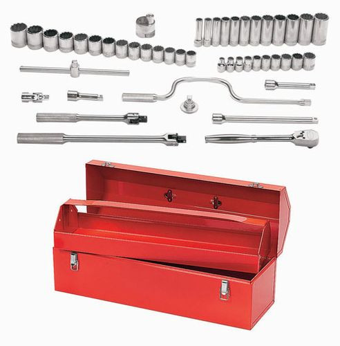 Williams MSS-33F 33-Piece 1//2-Inch Drive Socket and Drive Tool Set
