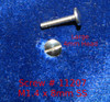 Machine Screw Special Thread M1.4 Pitch .30mm Head Diameter 4.0mm (Large Head Diameter) Threaded Length 8.2mm (Max) Overall Length 9.0mm Material Stainless Steel, Finish Color Silver Price is for 100 count package