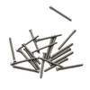"""Thread 00-90 2A Length, under bearing surface (head), 3/8"""" (9.5mm) Machine Screw Pan Head with Cross Recessed typically called Philips and Slotted overall length 10.2mm, Head diameter 0.078"""" (2.00mm) stainless steel in 100 count package, Please note for orders ten units and above  (1,000/5,000 pieces) packaged in bulk plastic bag. Reference for specifications is ANSI/ASTM 18.6.3"""