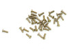 Machine Screw Special, Pan Head Thread M1.6 (1.60UNM) Overall Length (OAL) 5.8mm Threaded Length (Shank) 4.9mm Head 3.0mm Nickel Silver, Finish Color Silver Made on precision screw machines. Price is for 100 count package