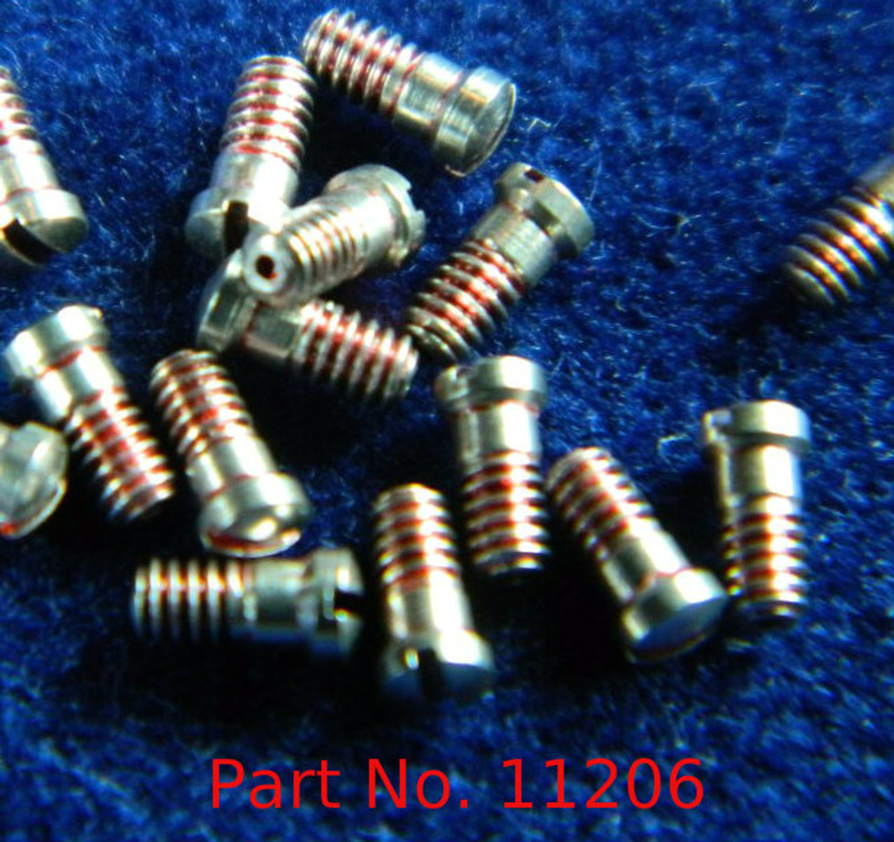 """Machine Screw Special, Small Head, Thread M1.4 (140UNM) Pitch .30mm Head Diameter 2.0mm Length (Shank) 2.8mm / 0.110"""" Max Overall Length (OAL) 3.0mm Material Stainless Steel, Finish Color """"Silver"""" Made on precision screw machines."""