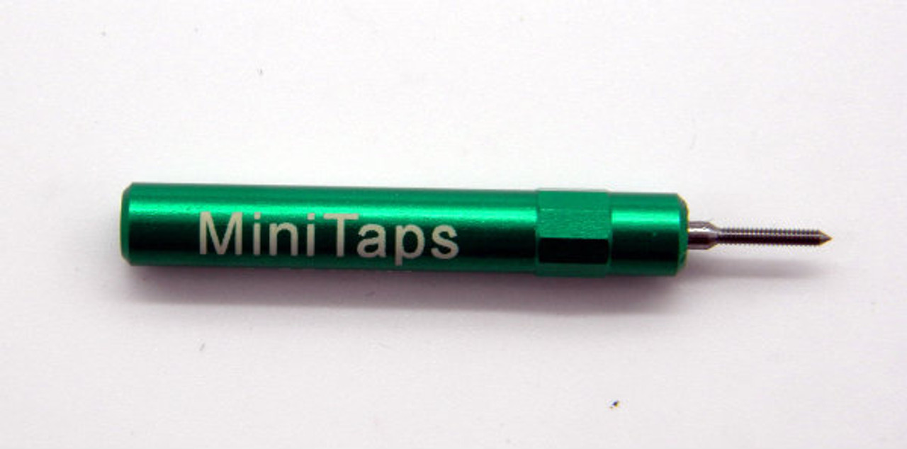 """000-120 2B Plug Gage UNS stands for (American) """"National Standard"""" miniature Thread series. This gage is one piece handle containing """"Go"""" Precision Thread Gage made of High Speed Steel then hardened. Standard fit is 2B  Picture is representative of part.  Brand is;"""" MiniTaps"""" made specifically for us in Switzerland.  Long form cert included in price."""