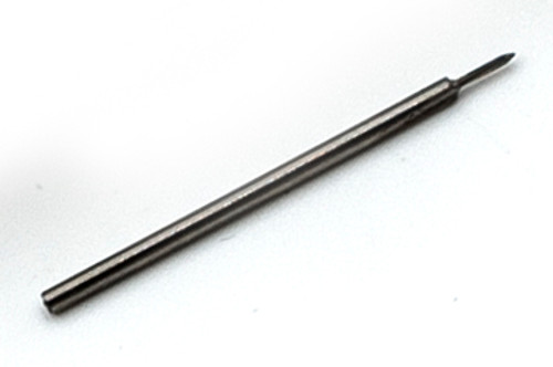 "M.40 Tap, aka: 0.40UNM Tap design:  2 flute Plug style made from high speed steel (HSS) to ISO standards thread pitch 0.10mm threading length approximate 2.0mm, Shank 0.039"" made from hardened high speed steel our taps are designed for production taping in Automatic screw machines, Tappers, CNC lathes and CNC mills.  Image is representative of the item for sales. Overall length of Tap is 2mm (0.870"") threaded length (tip to end of thread) 2.5mm (0.100"") lengths can vary slightly between batches.  Price listed is each piece."
