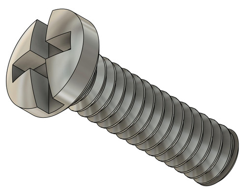 Pan Head Machine Screw Philips Cross-Slot Drive Thread M1.2 (1.20UNM) Pitch .25mm Threaded Length 4.0mm Overall length 4.7mm Head 2.0mm Stainless Steel Price is for 100 count package
