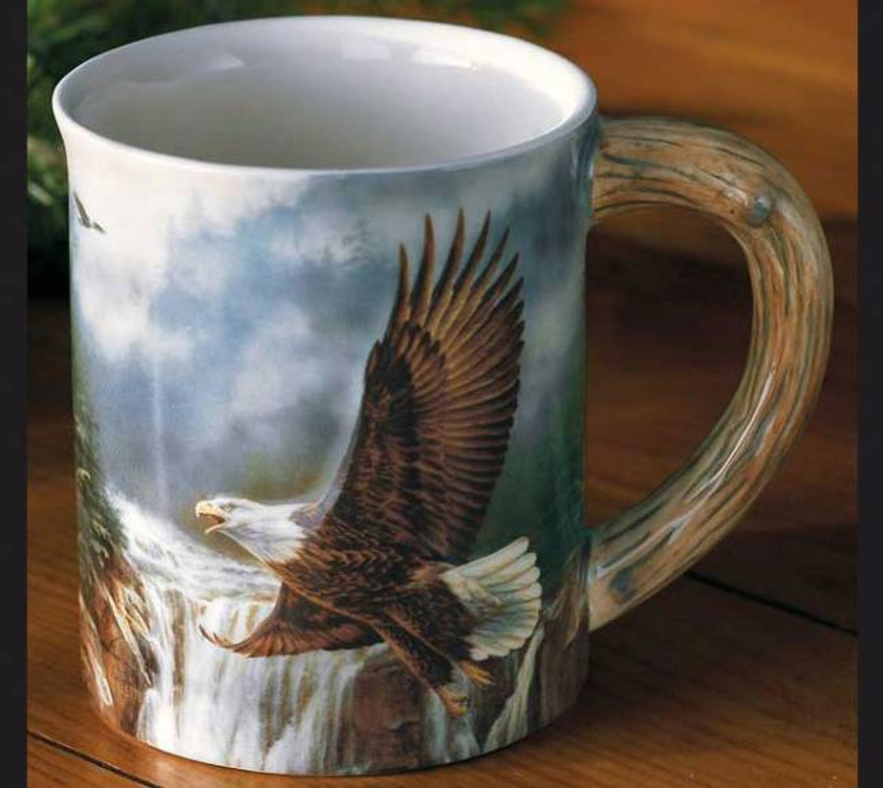 Bald Eagle Sculpted Coffee Mug