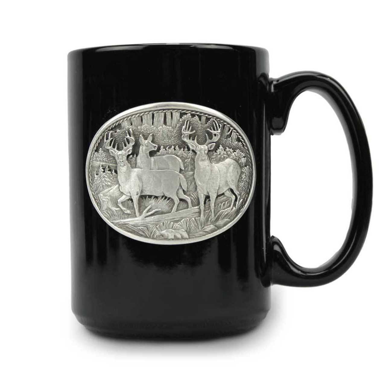 23579d91f09 Whitetail Deer Ceramic Coffee Mug | American Expedition