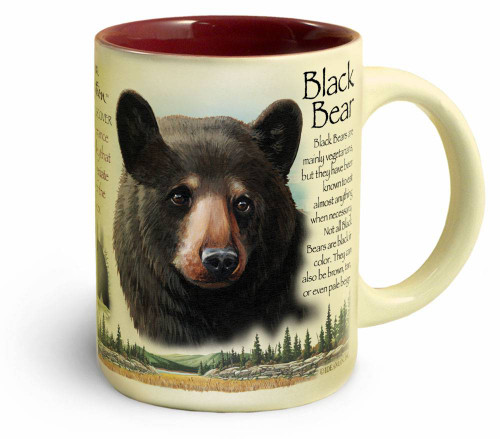 64d928cb214 Black Bear Stoneware Coffee Mug
