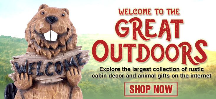 bring outdoor experiences home with rustic cabin decor