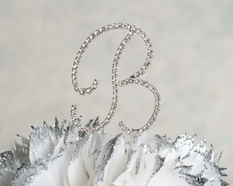 Swarovski Crystal Quinceanera Cake Topper
