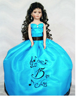 Musical Quinceanera Doll, available in every color